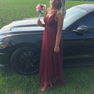 Prom girl dress